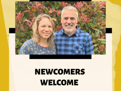 Newcommers Welcome
