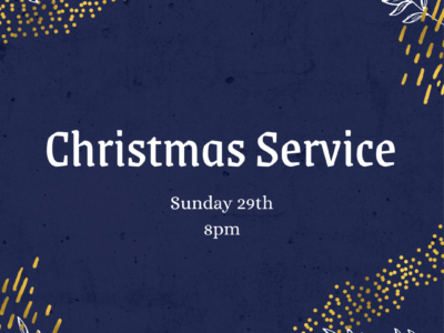 Student Christmas Service