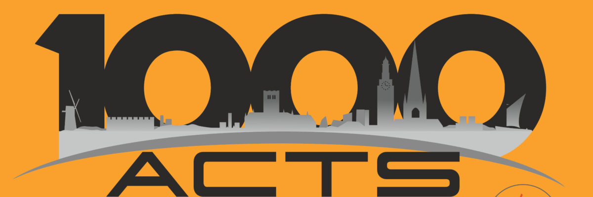 Find out more about our Lent Project, 1000 Acts